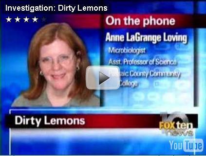 Dirty Lemons In Tea
